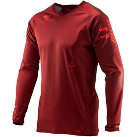 Leatt DBX 5.0 All Mountain Jersey Men ruby